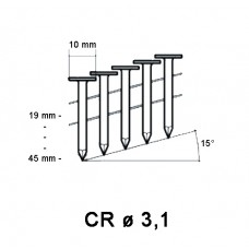 Roofing Nail ø 3,10mm, galvanized, different lengths