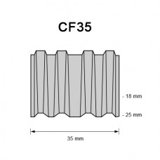 Corrugated Fastener CF35, 25mm, 1.250 pcs